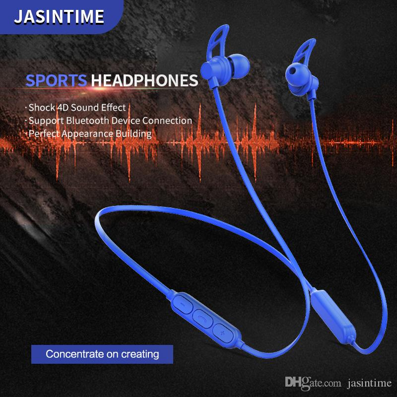 JASINTIME factory sports bluetooth headset,model X16,sports, running, fitness after hanging wireless bluetooth, support apple, xiaomi, samsu