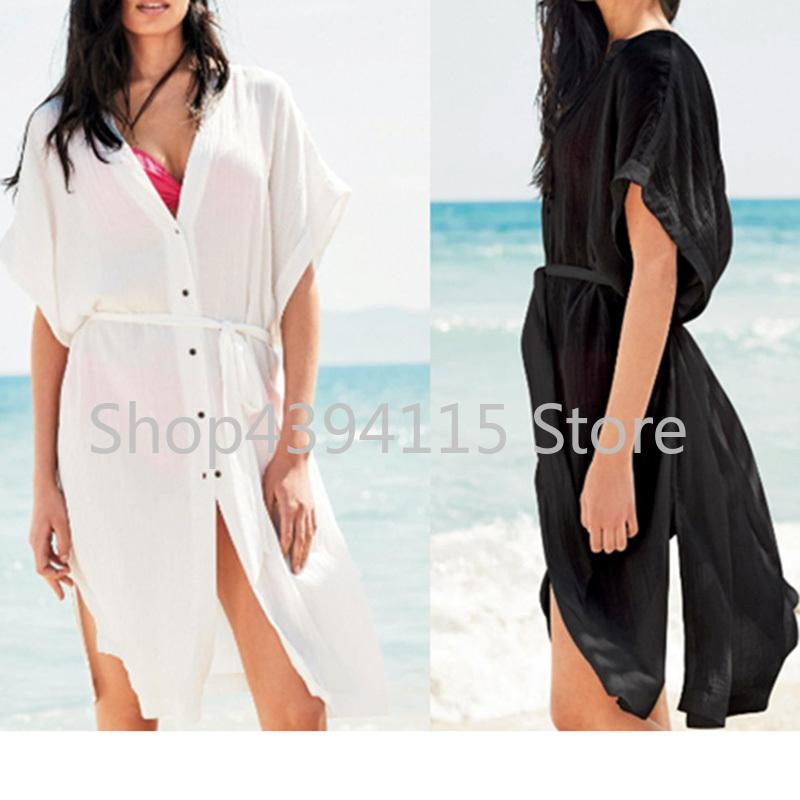 5c657e4c47 2019 Beach Cover Up 2018 Kaftan Beach Bathing Suit Cover Ups Tunics For  Pareo Wear Saida De Banho Swimwear Women Dresses From Sara001, $31.57 |  DHgate.Com