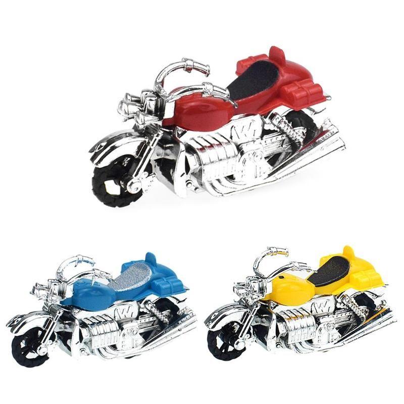 Back 1 Unid Juguete Regalos Envío Modelo Moto Vehículos Pull Niño Niños Motocicleta De Cumpleaños Plástico CexBoWrd