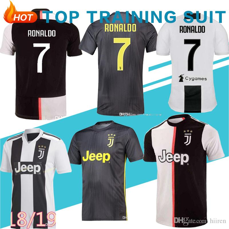 600b887ee93 2019 2019 20 Thailand Juventus Soccer Jersey Football Shirt RONALDO 19 20  Uniforms Champions Bernardeschi DYBALA JUVE EA SPORTS From Hiiren