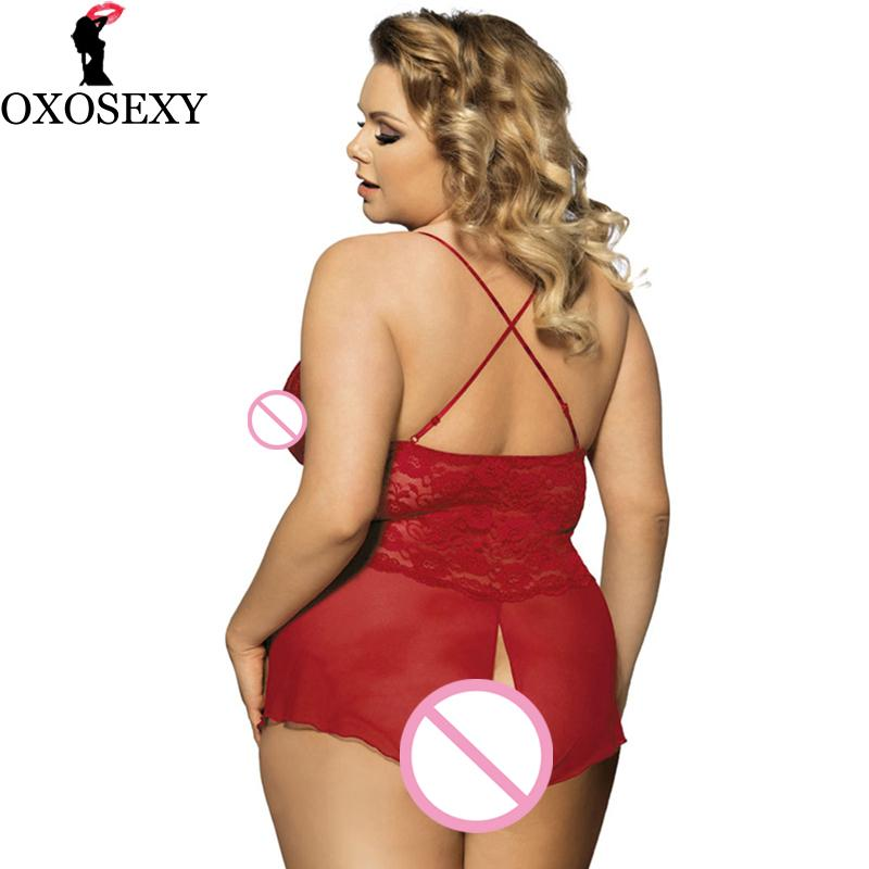 Xl Open Crotch Sexy Lingerie Plus Size Erotic Lace V Neck Teddy Sexy Erotic Underwear Lingerie Lenceria Sexy Costumes 143 From Guichenpants