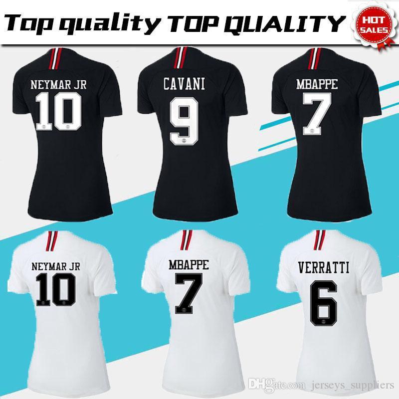 Nueva Verratti Maillot 1 Psg 18 Camiseta París Local Mujer Cavani Foot De Fútbol Chica Ligue Camisetas Mbappe 2019 19 rBeQCoWdx