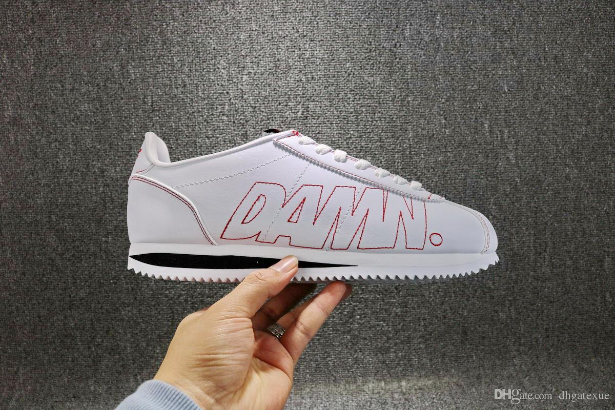 save off 92206 0c5cf Free Shipping Womens Mens Kendrick Lamar x Cortez Kenny 1 Damn Casual Shoes  Come With Box