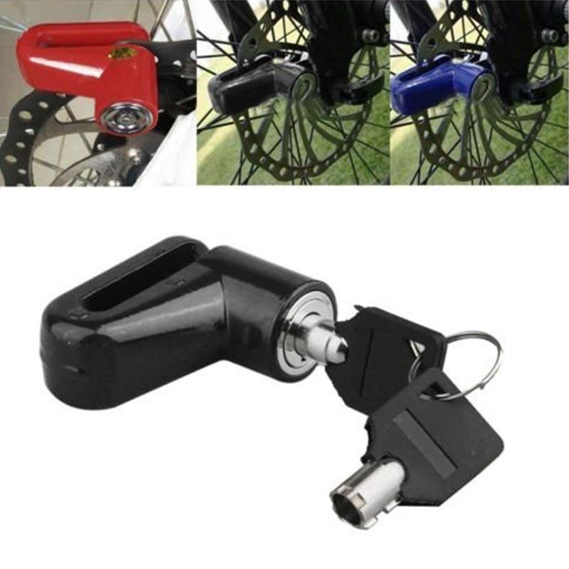 Mayitr Safety Anti-theft Heavy Duty Motorcycle Disk Brake Rotor Lock for Moped Scooter Theft Protection Motorcycle Accessories