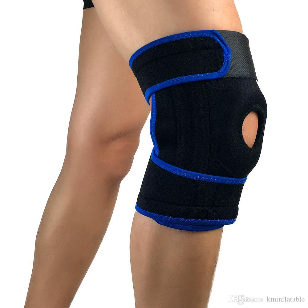a286cd4754 2019 Knee Brace Breathable Relieves Pain Short Knee Pads Sleeve Fitness  Sport Knee Support Brace Sports Safety Tapes From Kminflatable, $14.35 |  DHgate.Com