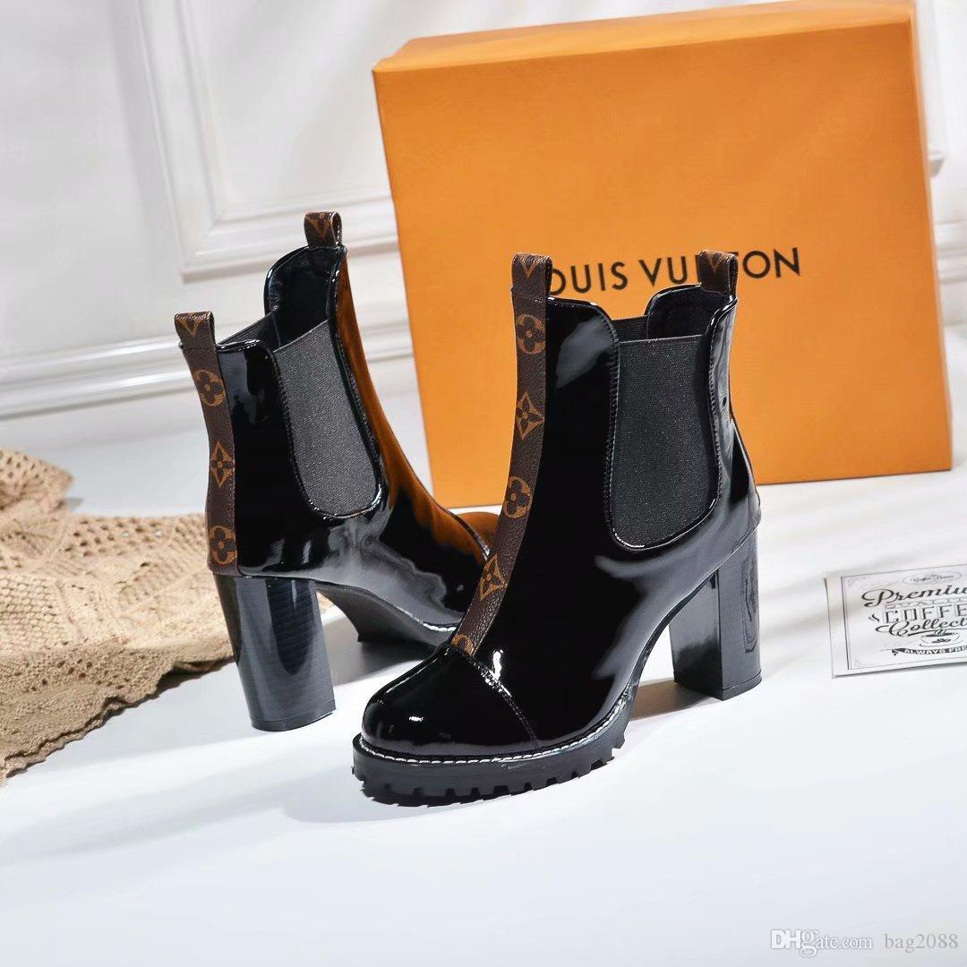 a21c673dece HOT Luxury Branded Full Leather Women s Boots Designer Style High ...