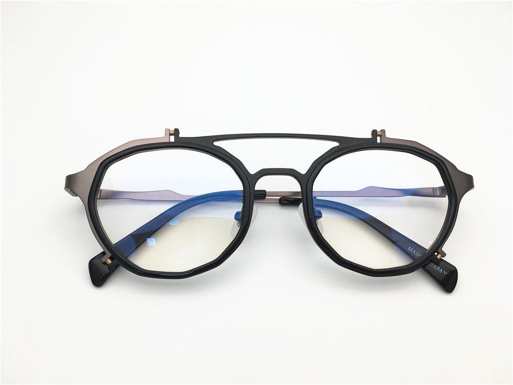 e1275b7327f Japan Masahiromaruyama Brand Desgin Irregular Shape Spectacle Frame Men  Myopia Designer Glasses Prescription Clear Lens Eyeglass Online with   83.83 Piece on ...