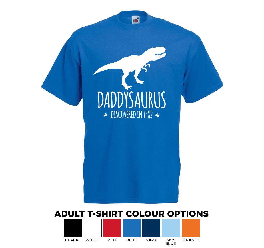 85534748 Personalised Mens Dinosaur T Rex T Shirt Fun Gift For Him S XXL Tshirt Tee  Men Women Unisex Fashion Tshirt Gag T Shirts T Shirts With Prints From ...