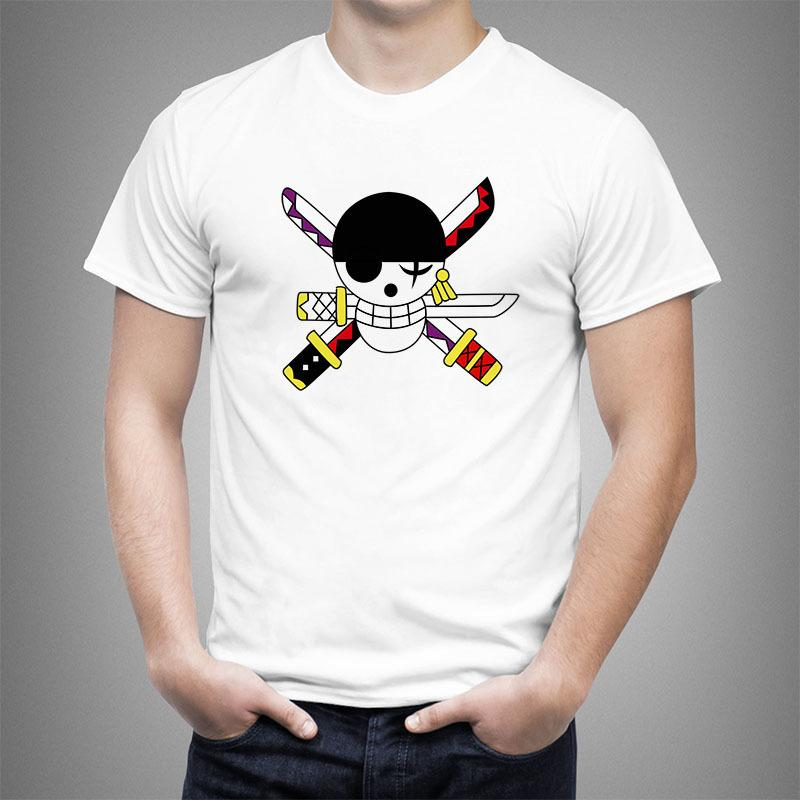 8157f5438 Animated Cartoon Flag One Piece T Shirt Men Women Luffy Printed 2019 Summer  Casual T Shirt Man Cotton Cool Tees Tops #1990 Graphic T Shirt Design Own T  ...