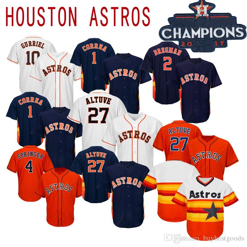 2019 Astros Jersey Alex Bregman Houston Jose Altuve Carlos Correa George Springer Michael Brantley Ryan Justin Verlander Men Women Youth