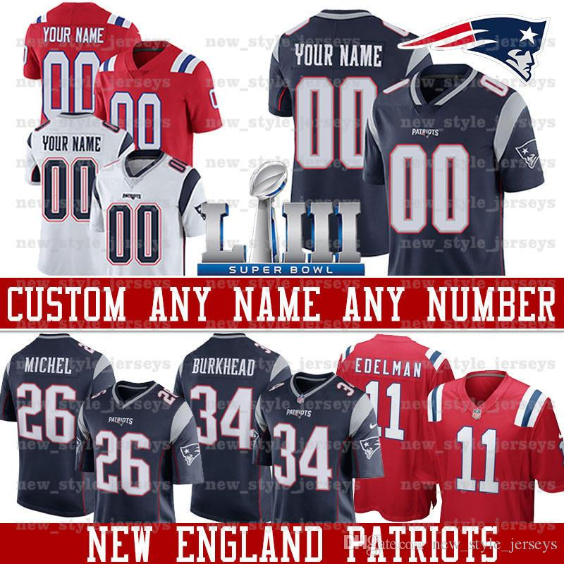 check out 380fd 42093 custom Patriots Jersey 24 Stephon Gilmore 26 Sony Michel 46 James Develin 2  Doug Flutie 38 Brandon Bolden