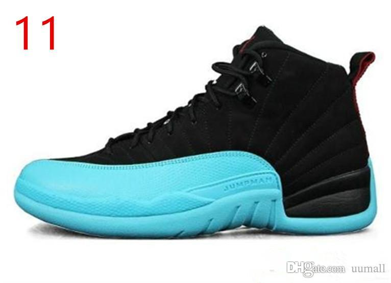 44641810d398e3 2019 HOT Cheap 12 12s XII Basketball Shoes All Black Taxi Playoffs Gamma  Basketball Culture Shoe Blue Grey XII Classic Street Sport Sneakers From  Uumall