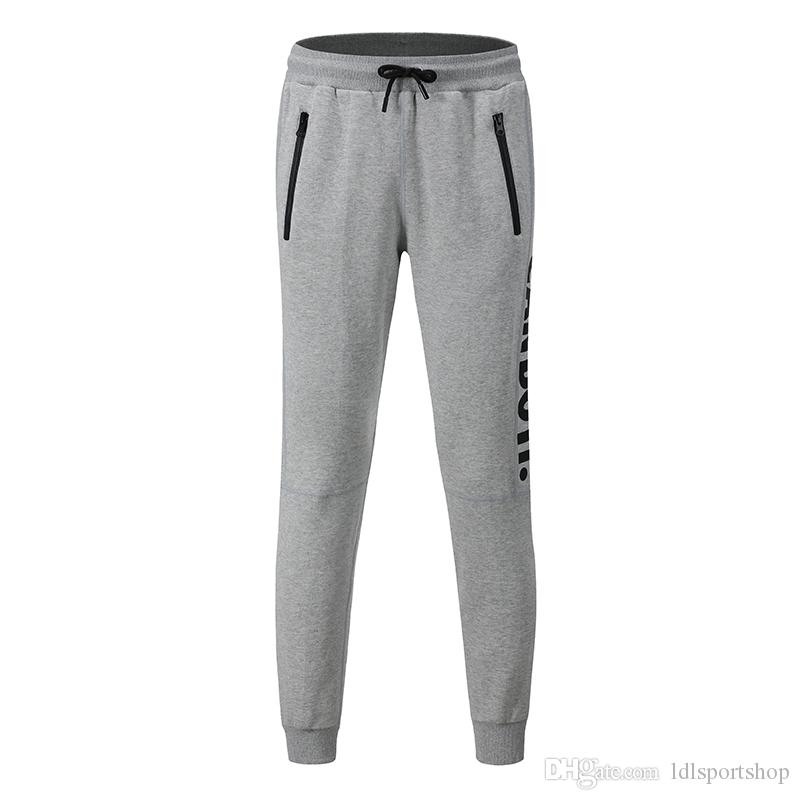 ac7f5bb82 2019 Print Workout Jogging Pants Men Fitness Joggers Running Pants Men  Training Sport Leggings Sportswear Sweatpants Bodybuilding Long Pant From  ...