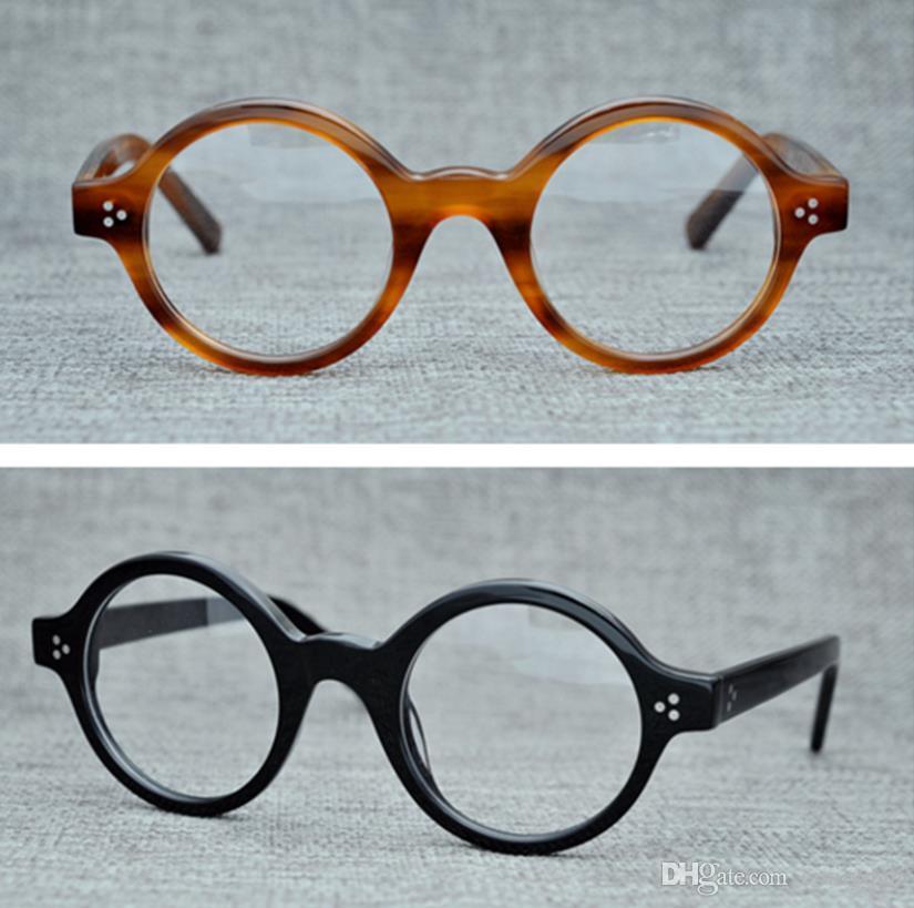 cc76e453d1b Optical Frames Glasses Brand Men Women Retro Round Eyeglasses Frames ...
