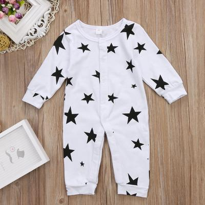 4530d5a2d45ff 2019 new Baby Boy Clothes Girl Jumpsuits Spring Newborn Baby Clothes  Cartoon Warm Romper Stars Costume Baby Rompers Infant Boy Clothes