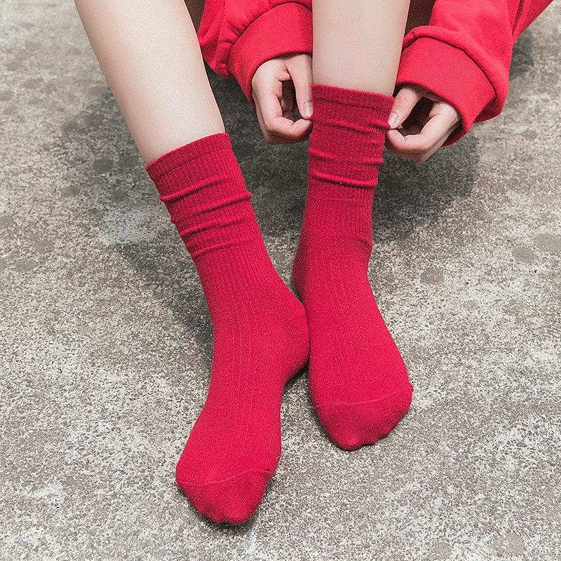1230e2c25 2019 Woman Socks Spring Long Socks School Style Cotton Candy Color Women  Fashion Cotton Casual Socks Breathable Women Korean From Hongxuanstore002