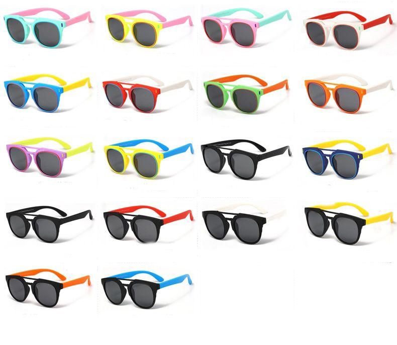 3b498d0eb251 New Arrived Polarized Light Classic Cute Kids Sunglasses UV400 Boys ...