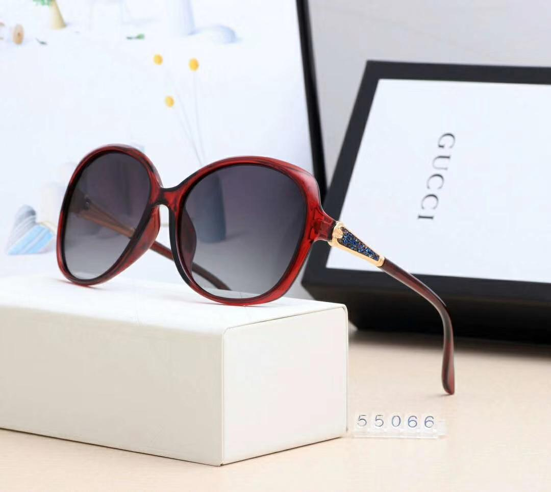 designer sunglasses luxury sunglasses Fashion Brand G55066 for Woman Glasses Driving UV400 Adumbral with Logo High Quality Hot Top
