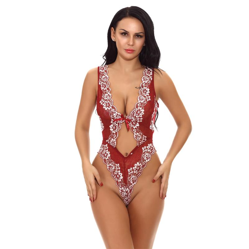 2839ba4de 2019 Summer Floral Lace Rompers Women Short Overalls Backless Party Playsuit  Sleeveless Sheer Sexy Bodysuit Feminino Beachwear Y190424 From Tao01
