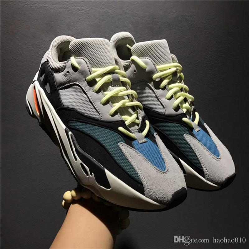 83e75c442 Hot Sell 2018 Newest Arrival Boost 700 Kanye West Wave Runner 700 Sneakers  Authentic Running Shoes Sneaker EUR 36 46 Clogs For Women Shoe Boots From  ...