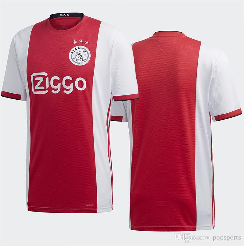 Best Chinese Jersey Site 2020 2019 2019 2020 Ajax FC Soccer Jersey Home Kit TADIC Soccer Top 19