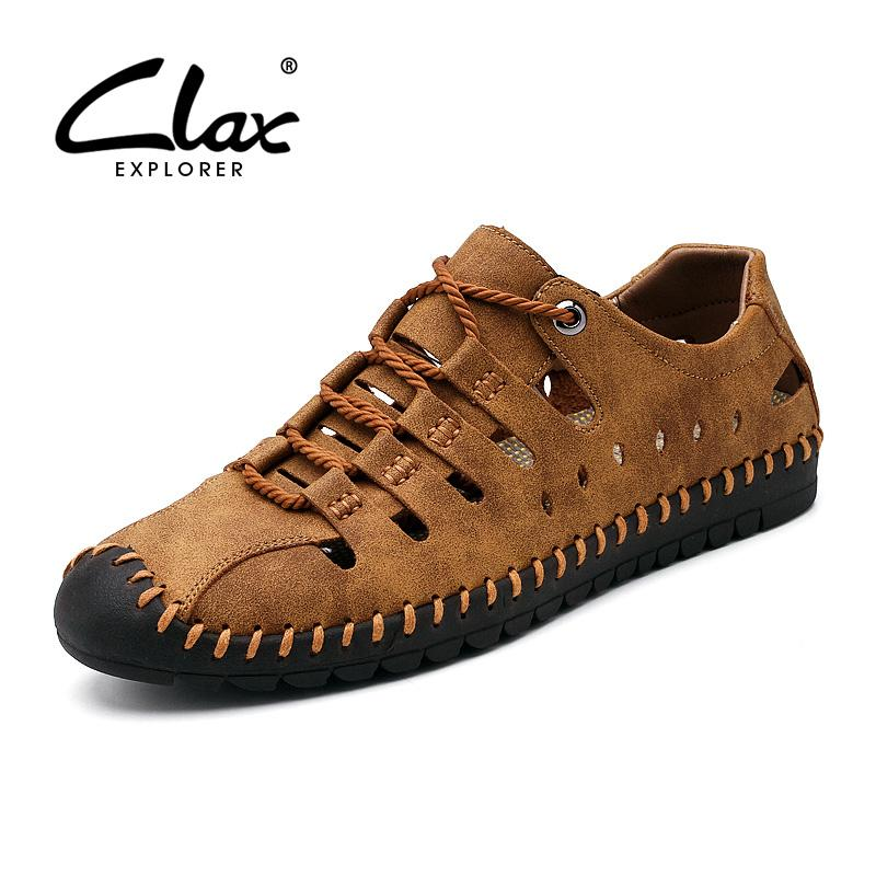 Para Caminar Calzado Hombre 2019 Gladiador Pu La Verano Clax Con De Diseñador Cuero Sandalias Zapatos Casuales 4c5jq3ALR