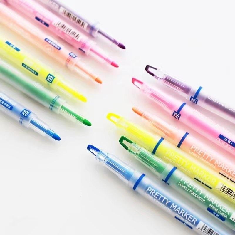 Compre 36 Unids / Lote Pretty Color Rotulador Resaltador ...
