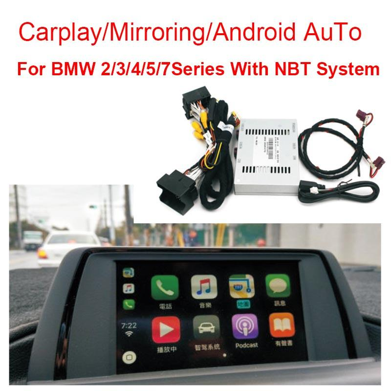 car Reversing Camera Interface Module for BMW 2/3/4/5/7Series With NBT  System With Carplay Mirroring