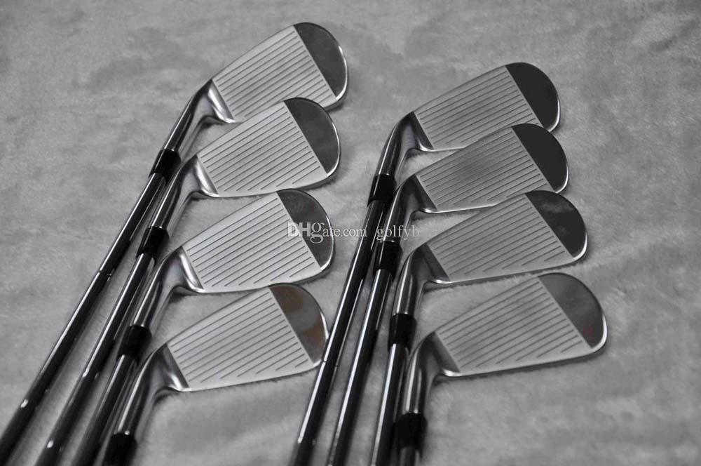 New Golf Club A2-718 Silvery Iron 8 picec Suits 3-9.P Loft R/S Flex Steel Shaft With Head Cover Free Delivery