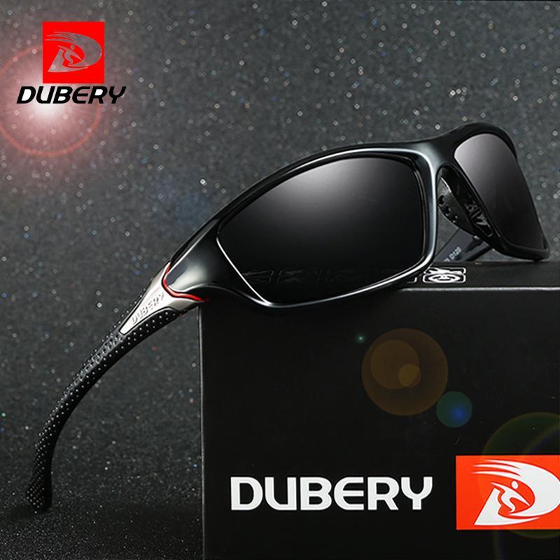 353c3d2a6 Compre Dubery Óculos De Sol Dos Homens Condução Polarizada Night Vision  Óculos De Sol Para Homens Quadrado Esporte Marca De Luxo Espelho Shades  Oculos D 120 ...