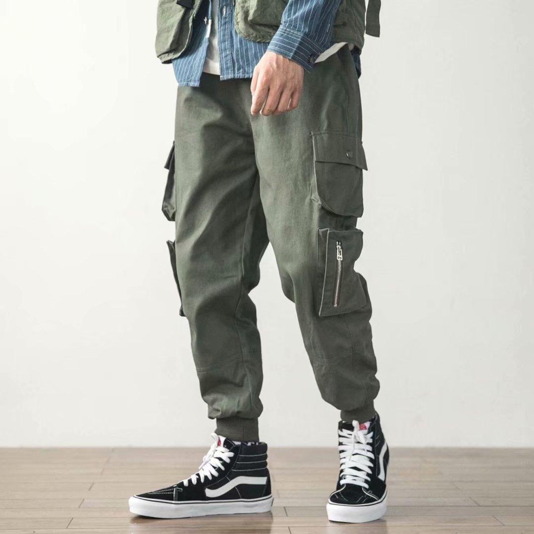 Harem Pants Pants High Quality Cotton Camouflage Pants Fashion Haren Pants Men Skateboard Hip Hop Original Design Multi Pockets Trousers Men