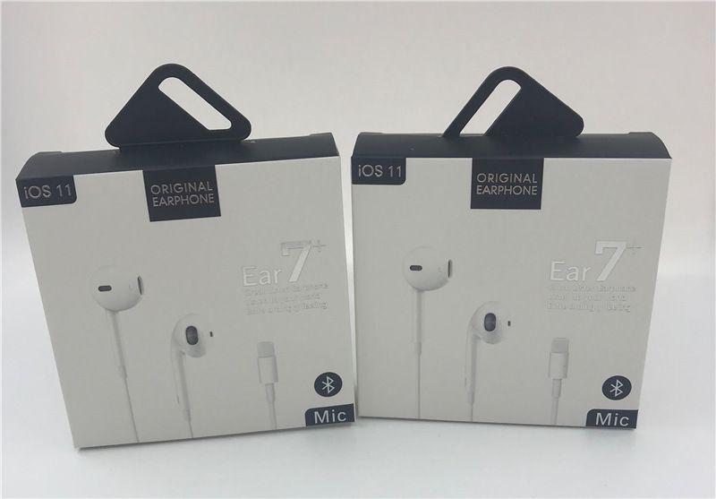 7-generatio 8p mit neuer Papierverpackung Hochwertiger Kopfhörer im Ohrhörer Mit Fernbedienung und Mikrofon für Telefon 7 8 X XR Bluetooth-Kopfhörer I7 I8
