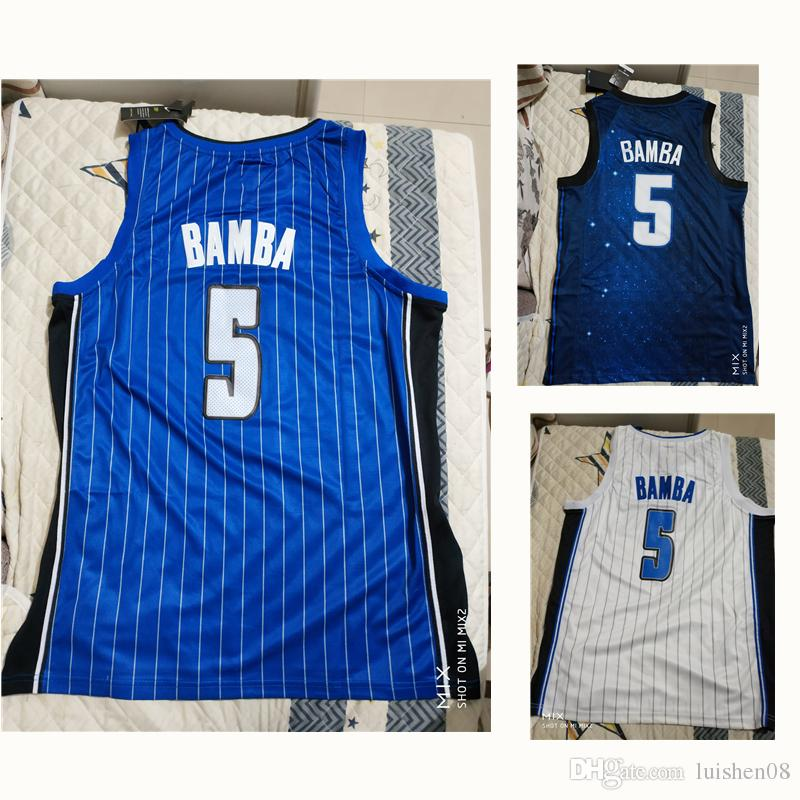 5 Mohamed Mo Bamba Team College White Blue Classic Basketball Jersey Mens  18 19 New Rookie Sky UK 2019 From Luishen08 ad6d184c9