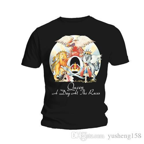 T-shirt Queen 'a Day at the Races' - Neuf e officiel