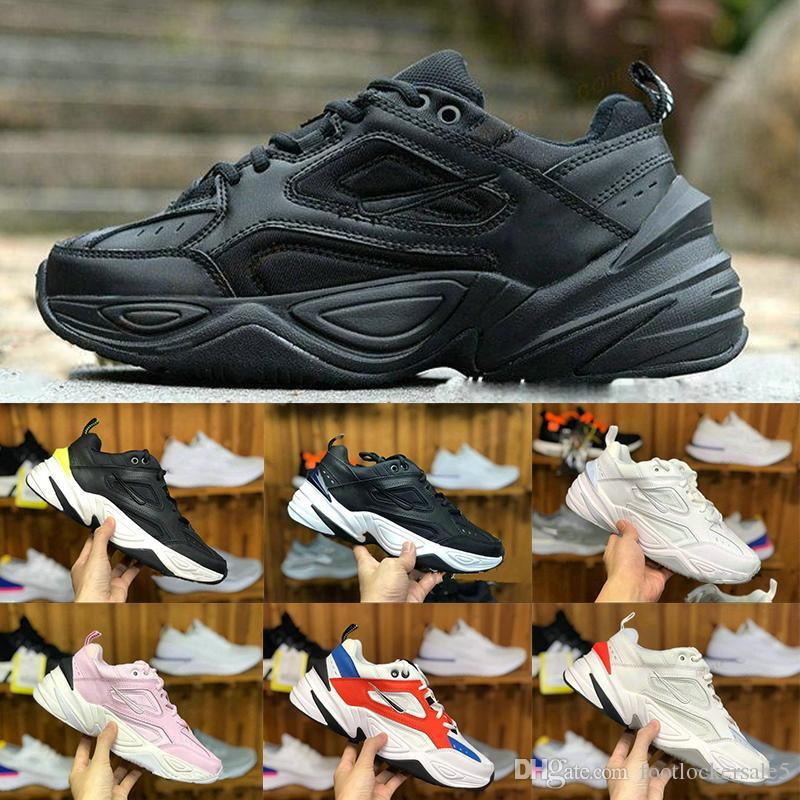 e127ff5075 2019 2019 M2K Tekno Running Shoes For Men Women Cheap Wholesale Monarch The  Dad Designer Black Volt Discount Cheap Sport Shoes Size 36 45 From ...