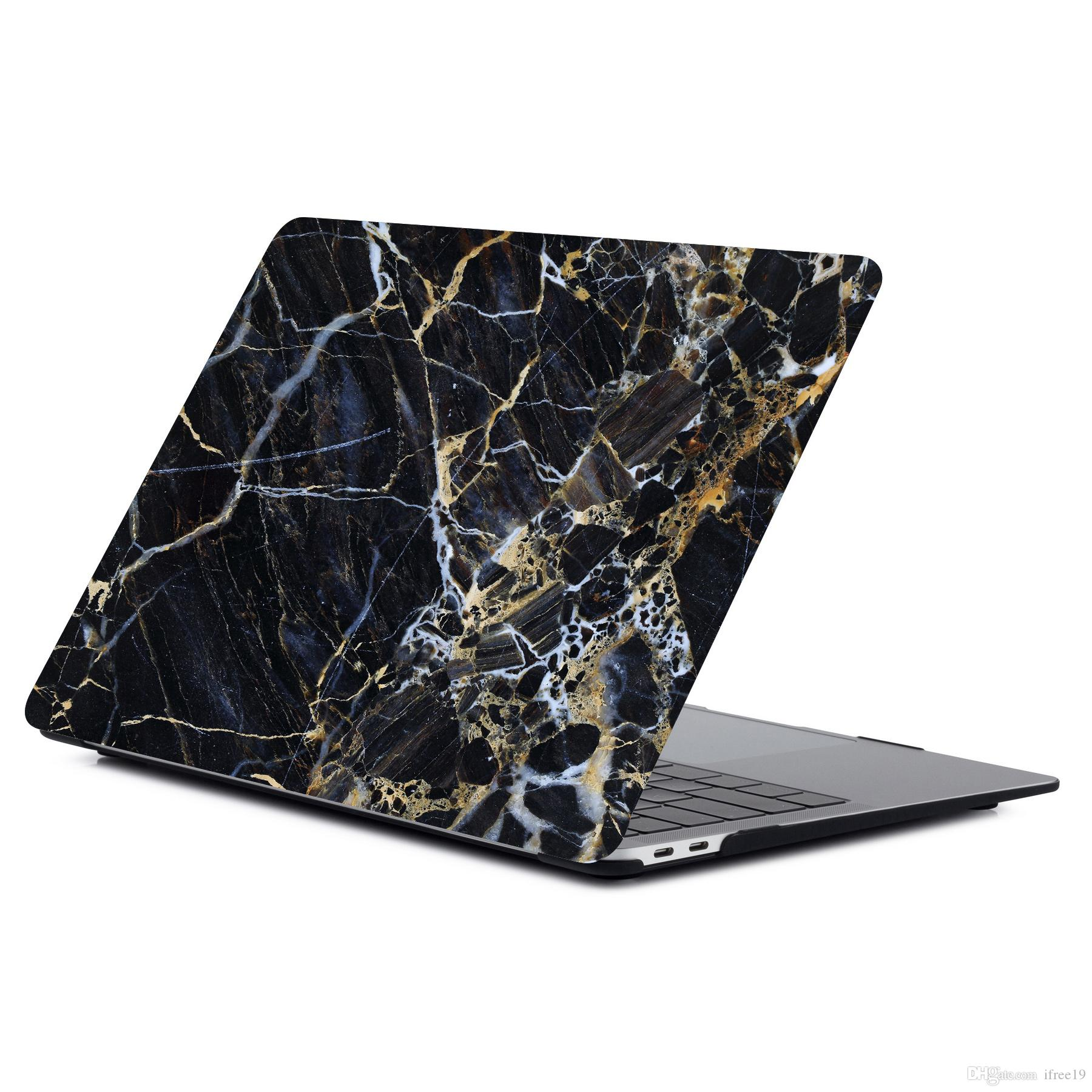uk availability 70652 e27dd Case for 2018 New Macbook Air Pro 11.6 12 13.3 Digital print marble  Rubberized Hard case Retina Laptop Full Protective Cover