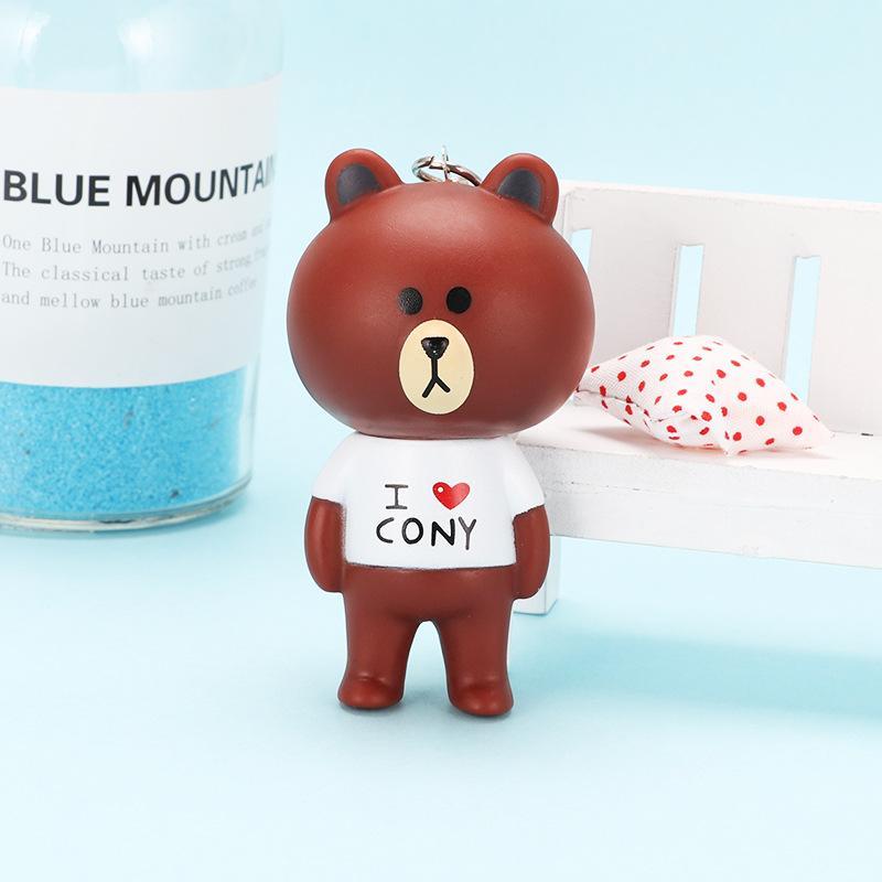 Acquista simpatico cartone animato orso brown bunny cony animal