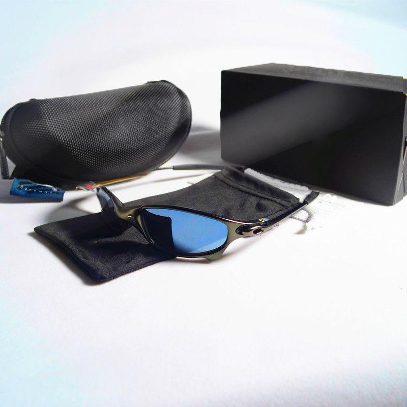 99b739c89 Compre 2019 Marca Sunglasse Top Óculos De Sol Óculos De Armação De Metal Lente  Polarizada Uv400 Juliet Esportes Óculos De Sol Moda Tendência Óculos Ao Ar  ...