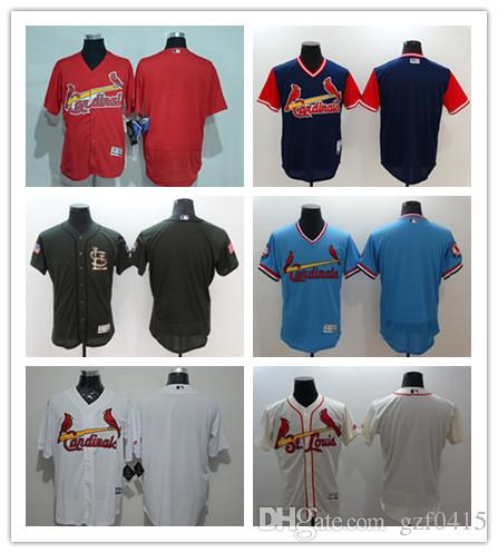 the latest 747b5 434cb 2018 custom Men s women youth St. Louis Cardinals Jersey Personalized name  and your number Red Grey White Baseball Jerseys