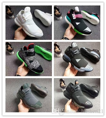 716f7b463 Wholesale Y 3 QASA RACER Hight Casual Shoes Sneakers Breathable Men And Women  Casual Shoes Couples Y3 Shoes Size Eur36 44 027 Red Shoes Footwear From ...