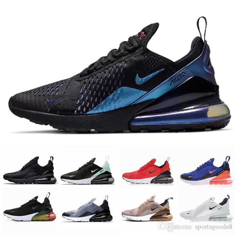 Air Bred 270 running shoes Men Women 27C Photo Blue Triple Black White University Red Oreo pink Hot punch 270s sports sneakers trainers