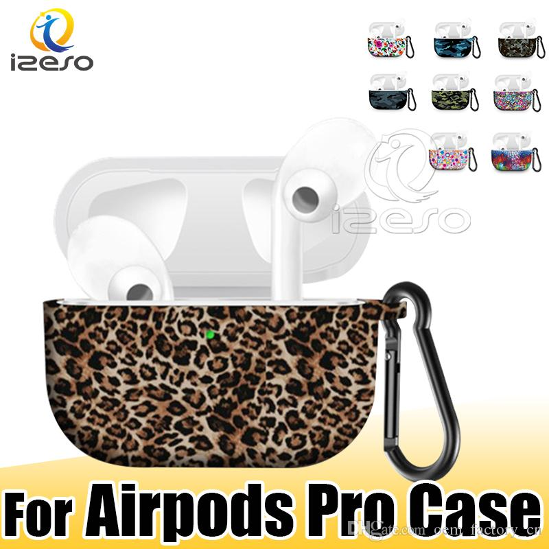 Case for Airpods Pro Creative Design New Fashion for Apple Airpod Pro Shockproof Anti-drop for Airpods Pro with LED Hole Hot Sale izeso