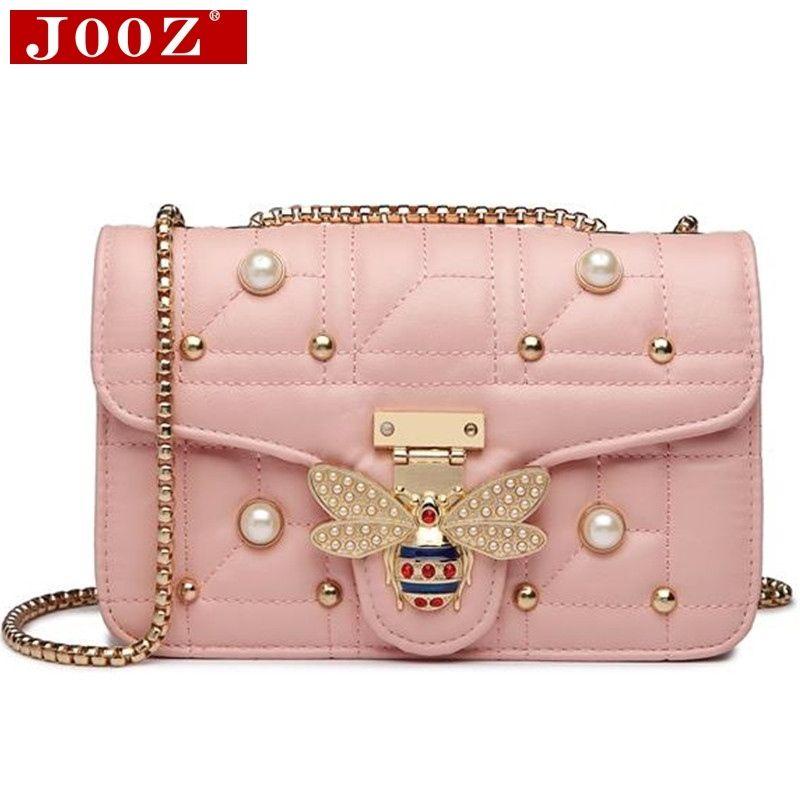 7e79b9242838 2019 Brands Designer Women Shoulder Bag Chain Strap Flap Ladies Leather  Handbags Messenger Bag Women Clutch Bee Buckle Purse #212594 Shoulder Bags  For Women ...