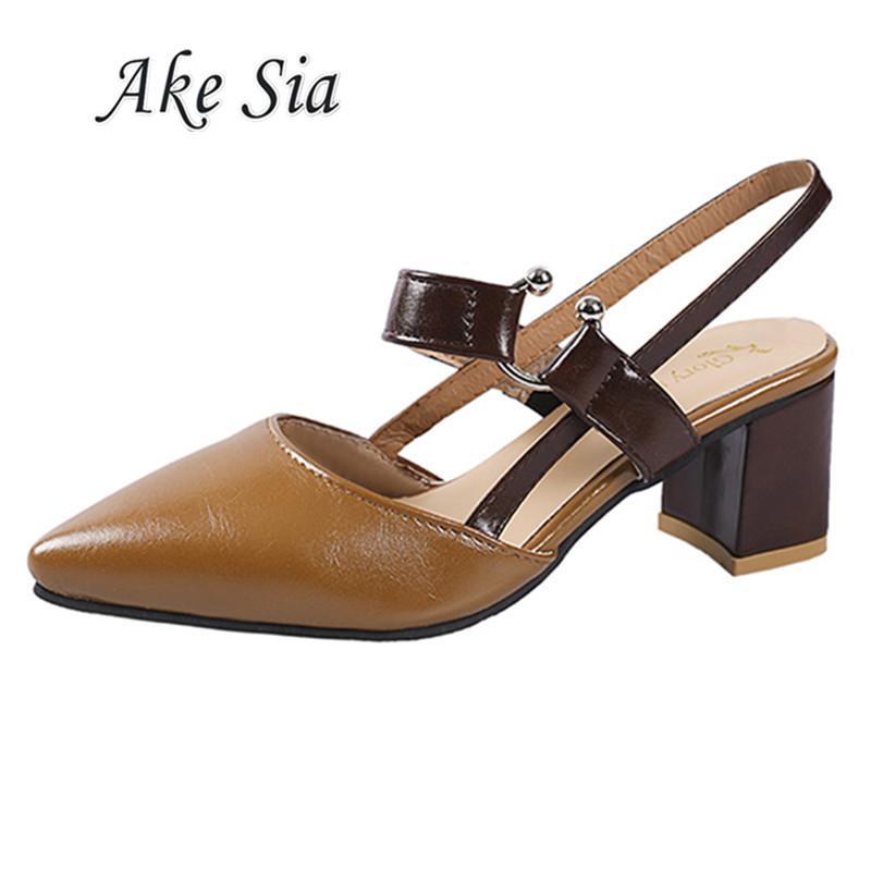 57772b5ed Compre 2019 Primavera Outono Nova Moda Feminina Dedo Apontado Confortável  Sapatos De Salto Alto Mulheres Rasa Boca Casual Pu Único Sapatos Mujer C30  De ...