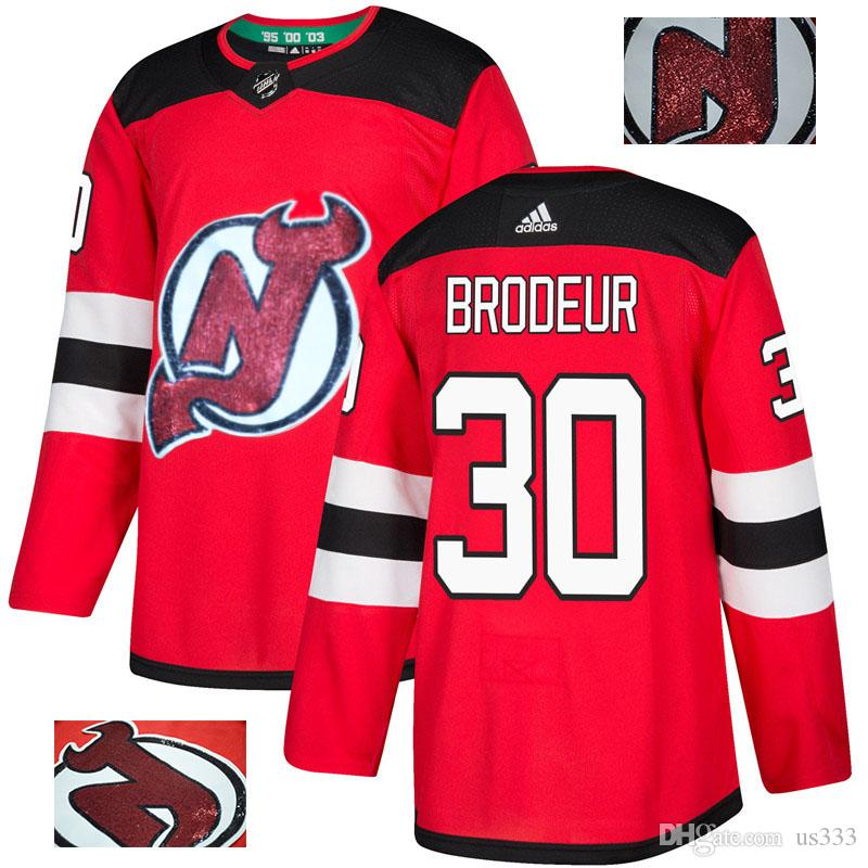48cd13cef 2019 2019 Men S Taylor Hall NHL Hockey Jerseys Nico Hischier Winter Classic  Custom Ice Hockey Authentic Jersey All Stitched 2018 Player Blank Man From  Us333 ...