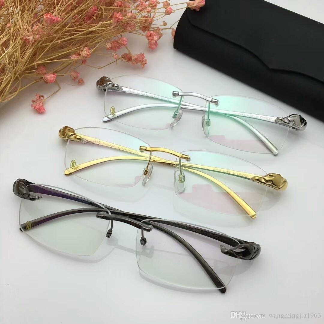 5b2e73d25f10 2019 8200875 Eyeglasses Frame Women Men Brand Designer Eyeglass Frames  Designer Brand Eyeglasses Frame Clear Lens Glasses Frame Oculos With Case  From ...