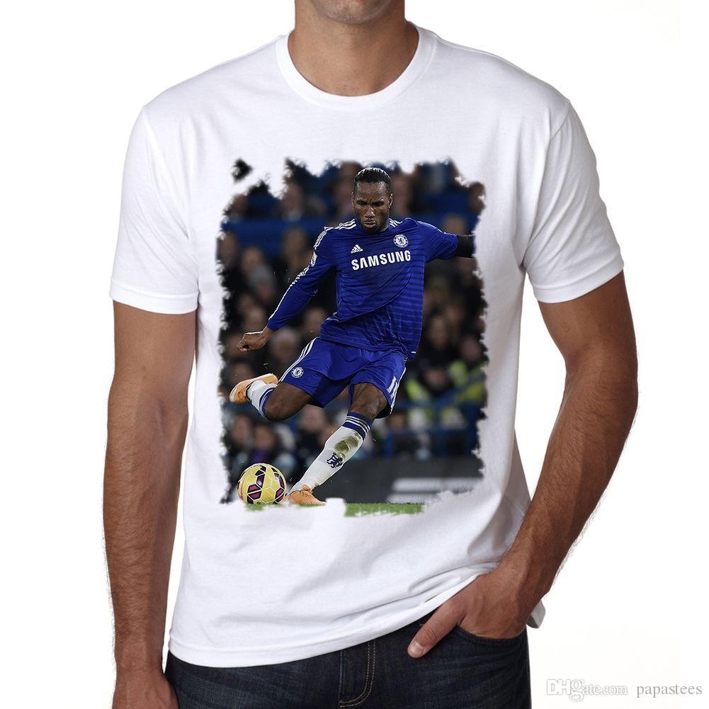 sports shoes 0d659 030f4 Didier Drogba Tshirt Homme T-shirt