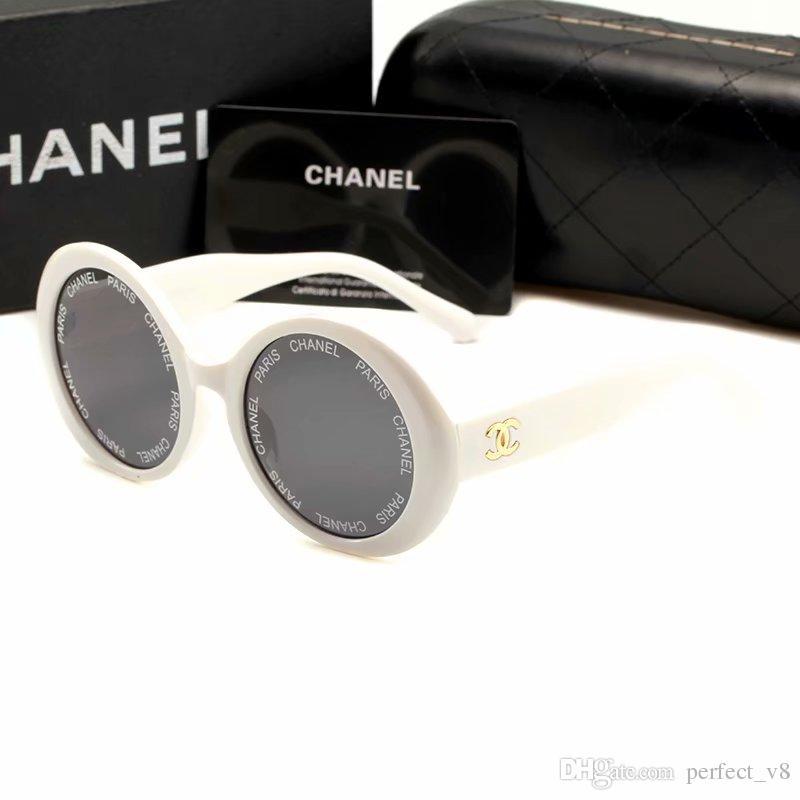 b1e8385409 Compre Diseñador De La Marca De Moda Gafas De Sol Para Mujer 6490 Estilo  Clásico De Verano Redondo Gafas De Montura De Gafas De Calidad Superior  Lentes De ...