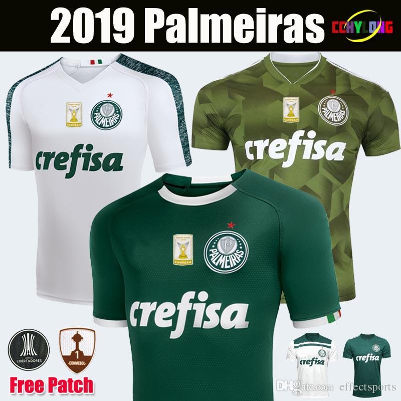 d0c007fdc1 New 2019 Palmeiras Soccer Jerseys DUDO G.JESUS JEAN ALECSANDRO Palmeiras  2018 Camiseta De Futbol 18 19 ALLIONE CLEITON XAVIER Football Shirt  Palmeiras ...