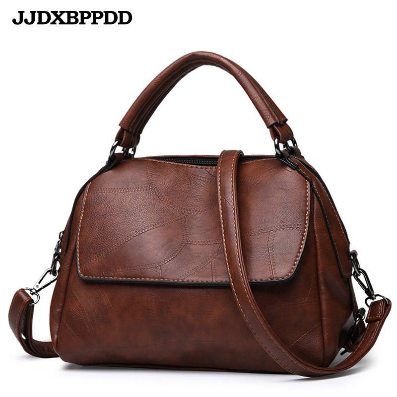 Luxury Quality Vintage Leather Ladies Leather Women Bag Handbags ... 8bfc316771